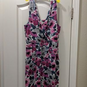 Garnet Hill V Neck Sundress